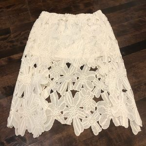 BOGO Goegous Skirt with front slit opening